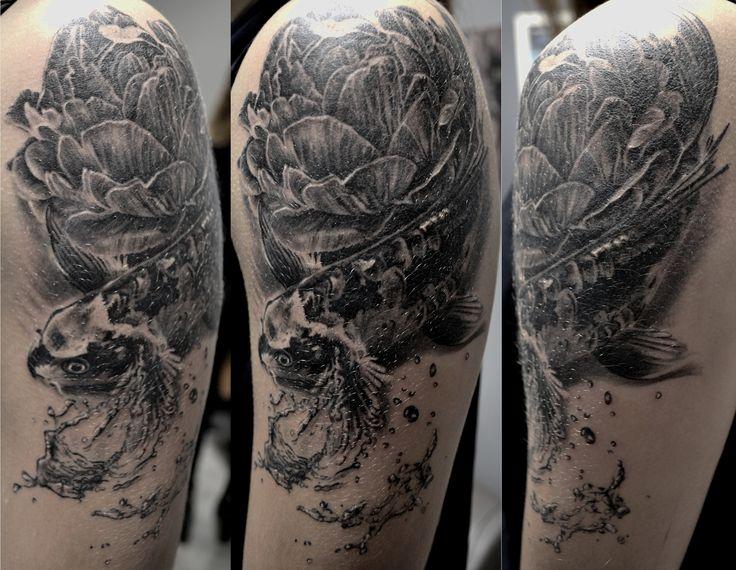 25 best ideas about tatouage carpe koi on pinterest. Black Bedroom Furniture Sets. Home Design Ideas