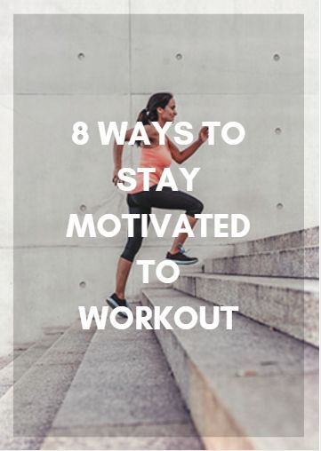 If you want to feel healthy all year long, a high level of motivation is necessary. Here are some tips to help you stay incredibly motivated to reach your fitness and sport performance goals, no matter what season it is. 8 Ways to Stay Motivated to Workout http://www.active.com/fitness/articles/8-ways-to-stay-motivated-to-workout?cmp=17N-PB33---D2--1126