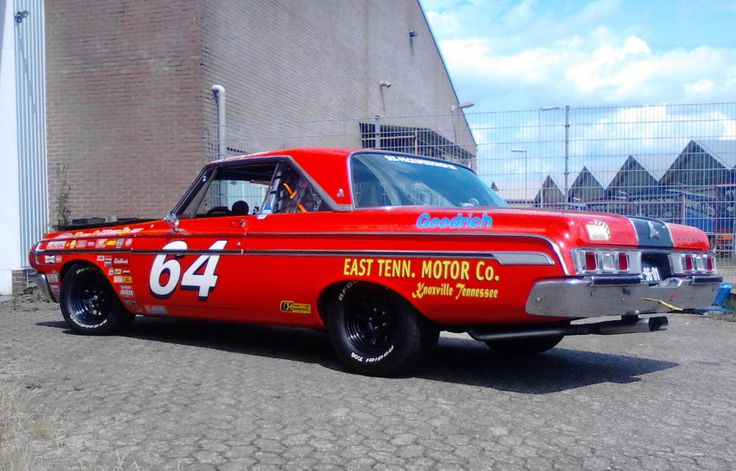 buddy baker 39 s nascar replica 1964 dodge polara by frans. Black Bedroom Furniture Sets. Home Design Ideas