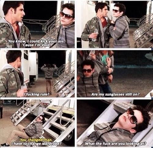 dylan and tyler - teen wolf