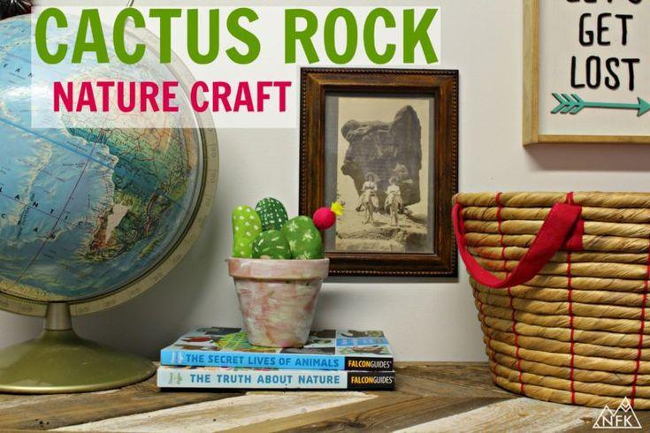 Cactus Rock Nature Craft