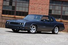 The DSE 1984 Monte Carlo is owned by Detroit Speed and is the Test Car for our line of G-Body Parts. This Monte Carlo was brought in as a stock vehicle. The car was first installed with drop springs to give the car an improved stance. Following the drop springs DSE installed the rear Swivel-Link's® followed by upper and lower control arms. After that, DSE installed the G-Body Anti-Roll Bars and eventually added a front and rear coilover kit.
