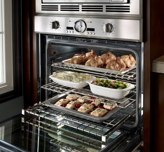 Kitchen Layout With Double Oven: 17 Best Images About Double Oven Design On Pinterest