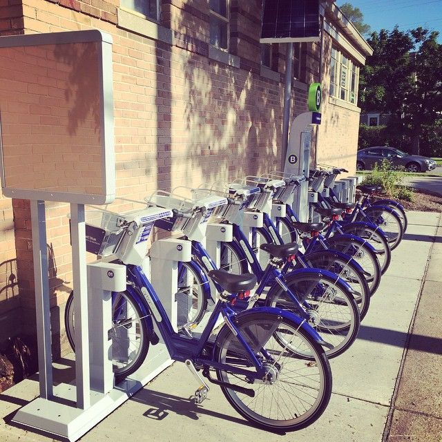 We've got a new @arborbike station outside the #OutdoorAdventures Rental Center! Come get your ride on!