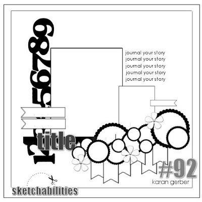 MSC February Sketch 1 - Scrapbook.com