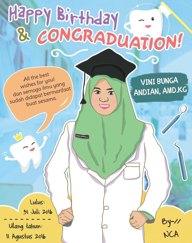 © 2016 | Client: Angga Sukma – for his Girlfriend (Vini Bunga) Graduated.