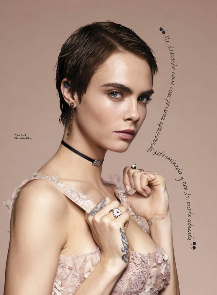 Cara Delevingne | Dior Fashion Shoot | Glamour Mexico Cover