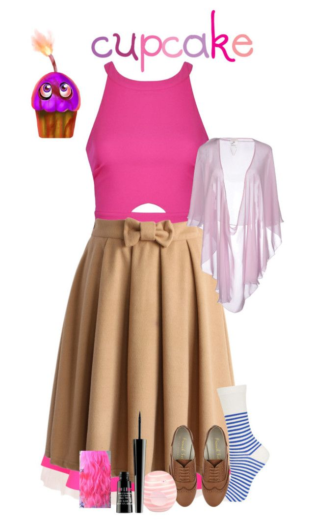 """""""The Cupcake FNAF"""" by wolfgirl-12 ❤ liked on Polyvore featuring moda, Ballet Beautiful, UNIF, Ally Fashion, Chicwish, Topshop, Valentino Roma, River Island i Lord & Berry"""