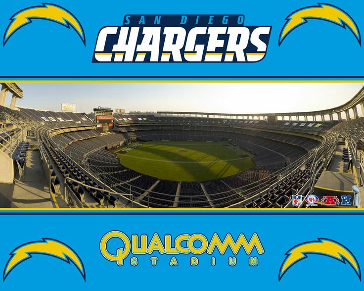 Chargers Qualcomm stadium, where the hubs gets to watch his Packers play