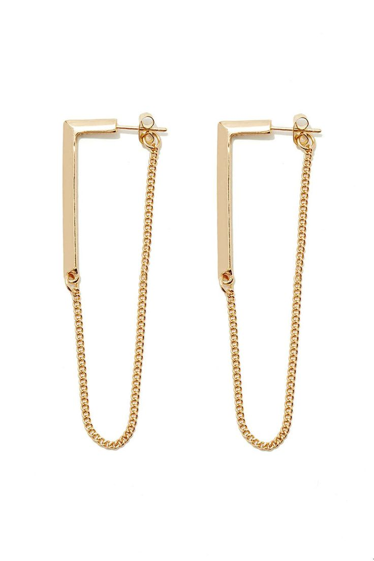 Double Up: 15 Twosided Earrings To Try Now