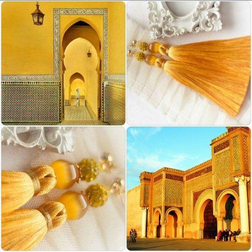"""Efulki Tassels """"Meknes"""""""