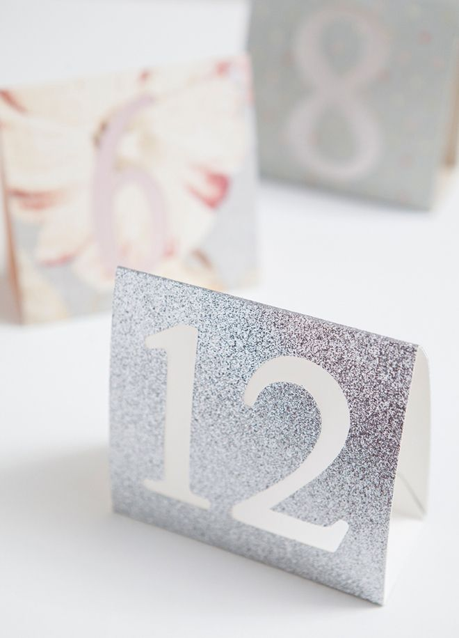 learn how to create table numbers with the cricut explore