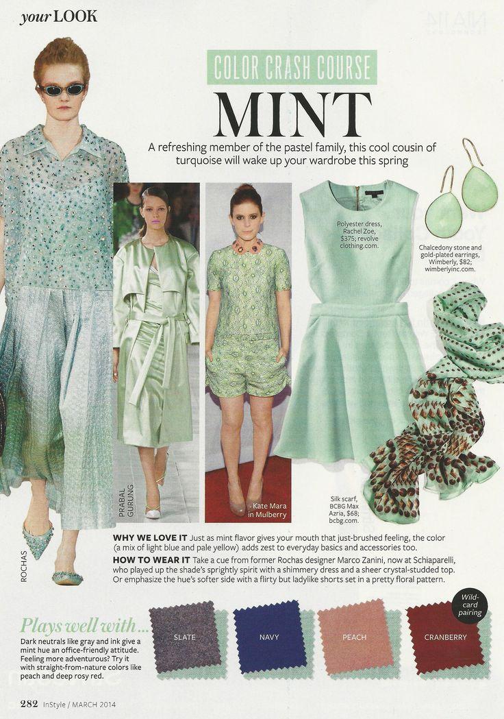Color Crash Course: Mint #instyle