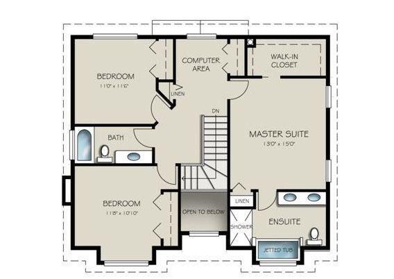 Casa ideal para familias grandes Planos de Casas Gratis   dePlanos.Com