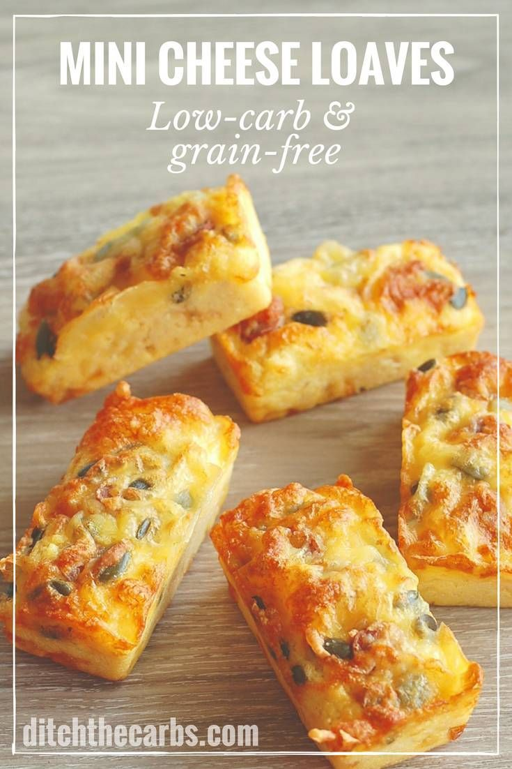 Coconut flour mini cheese loaves are the gold standard when it comes to flourless bread. These are simply magical!!! Low carb and keto friendly, these are perfect for lunch boxes and dinner. See the easy recipe. | ditchthecarbs.com via @ditchthecarbs