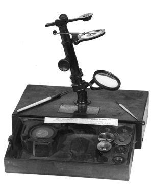 Microscope belonging to Robert Brown, botanist on Matthew Flinders' Voyage of Circumnavigation, Australia 1801- 1805