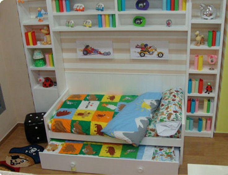 16 best images about camas y literas infantiles lacadas en - Camas nido pequenas ...