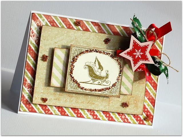 Świąteczne kartkowanie ze Studio75 - Christmas cardmaking with Studio75