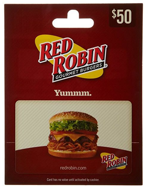 $50 Red Robin Gift Card Only $40 **Prime Early Access Deal** - http://www.swaggrabber.com/?p=322187