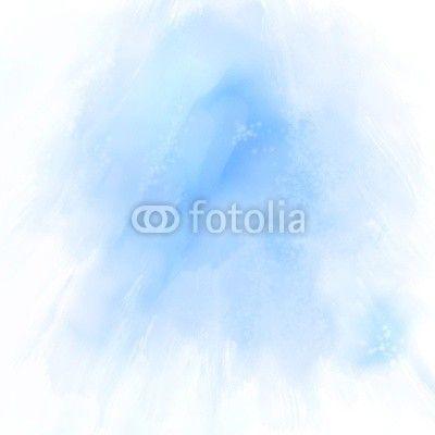 Fotobehang kunst, painting, pastel - blauwe abstracte ✓ Makkelijke montage ✓ 100% ecologisch afgedrukt ✓ Bekijk de opinies van onze klanten!