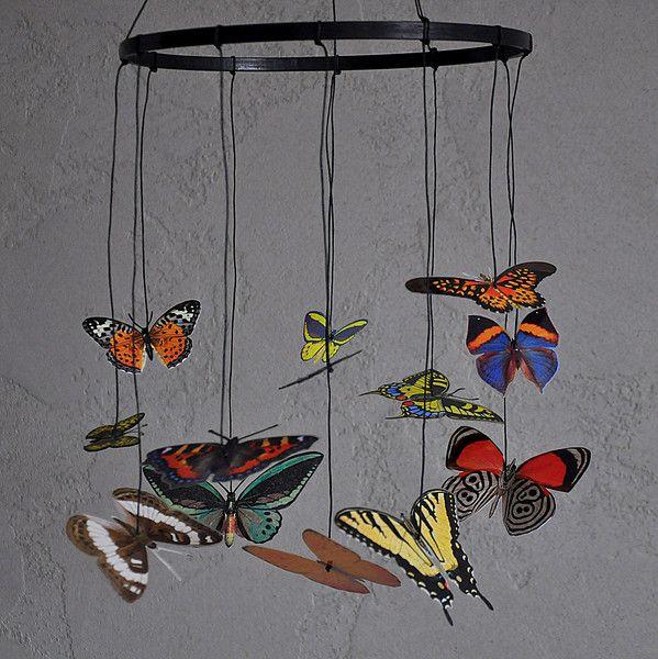 Karuzela 6 wg zasady Montessori | Motyle - misticODDMENTS - Karuzele dla…