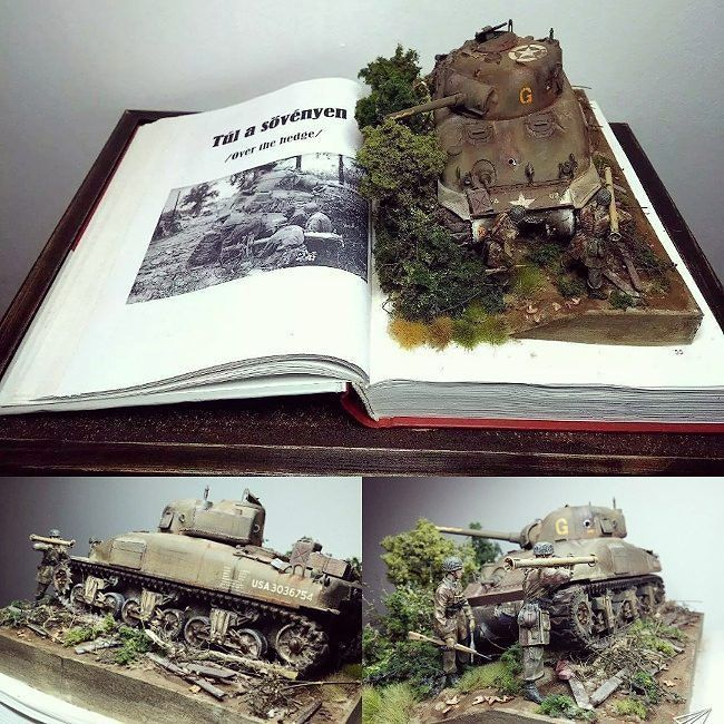 """By the Book"" Italy 1945 1/35 diorama. Unknown modeler #scalemodel #plastimodelismo #miniatura #miniature #maqueta #maquette #modelismo #modelism #modelisme #miniatur #war #guerra #guerre #bataille #plasticmodel #plastimodelo #usinadoskits #udk #hobby #diorama"