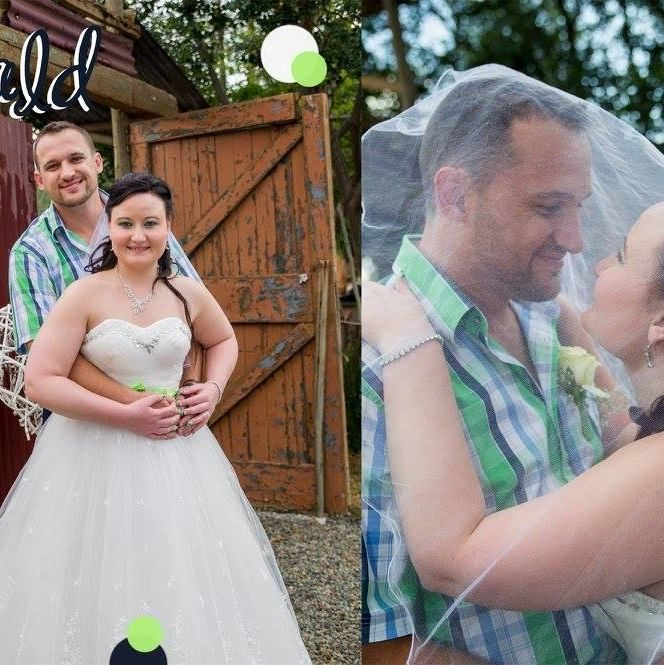 Chevonne & Eugene at Oppi Plaas Wedding Venue Krugersdorp