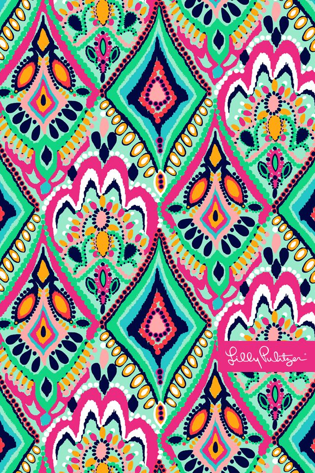 Lilly print ~ amazing colours