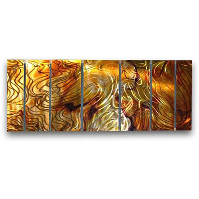 ALL MY WALLS Ash Carl U0027en Harmonyu0027 7 Piece Metal Art Set