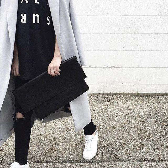The Clutch styled by Kellye @ovrslo #noanbags