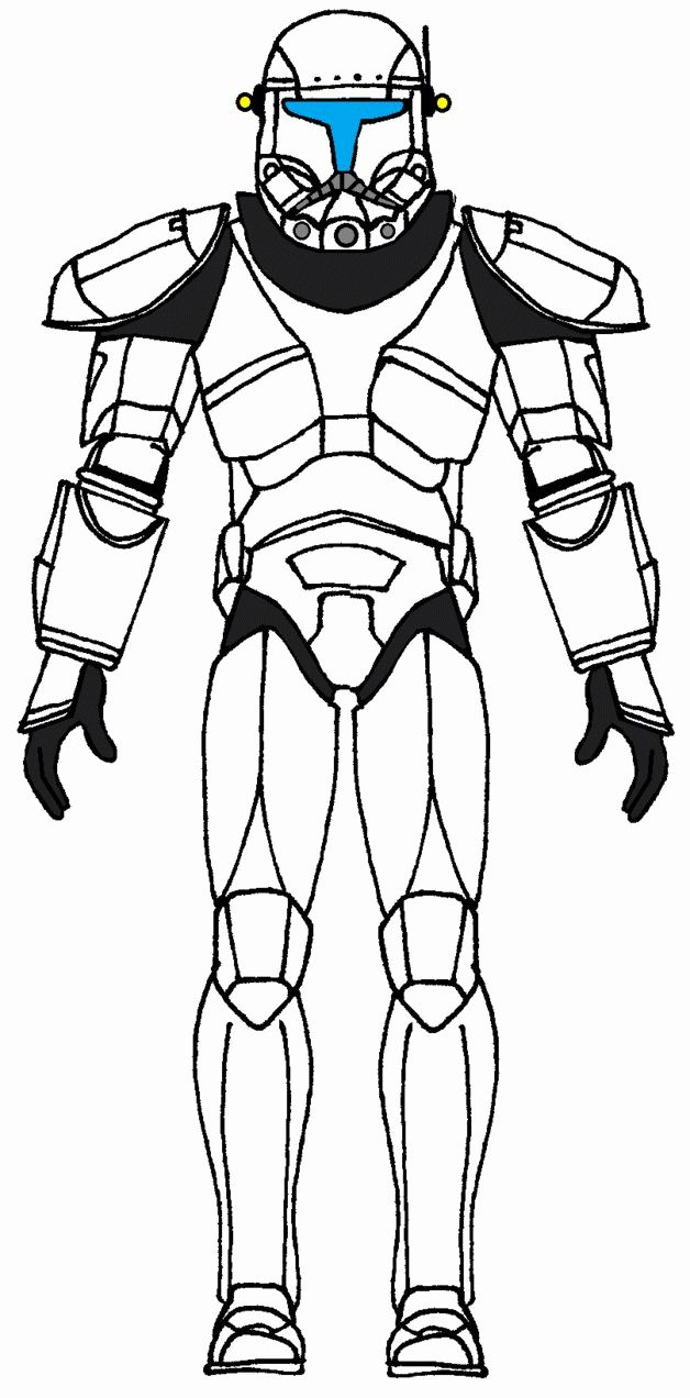 Clone Trooper Coloring Page Inspirational Star Wars Coloring Pages Captain Rex Coloring Home In 2020 Star Wars Pictures Star Wars Clone Wars Clone Commandos