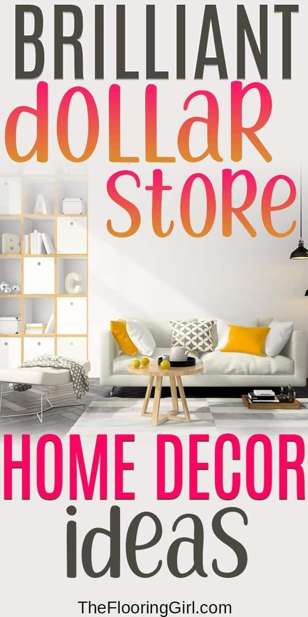 17 Beautiful Dollar Store Home Decor Ideas With Images Frugal