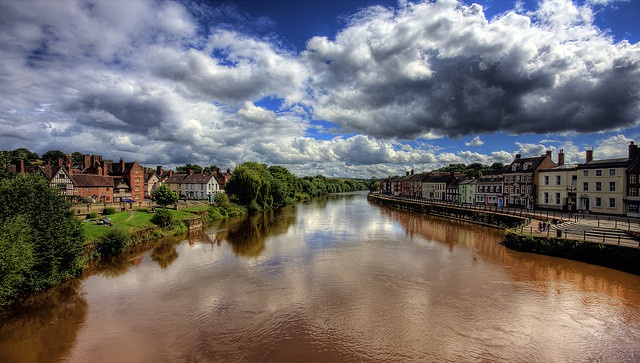 Bewdley downstream from the bridge. | Flickr - Photo Sharing!
