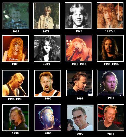James Hetfield, Metallica