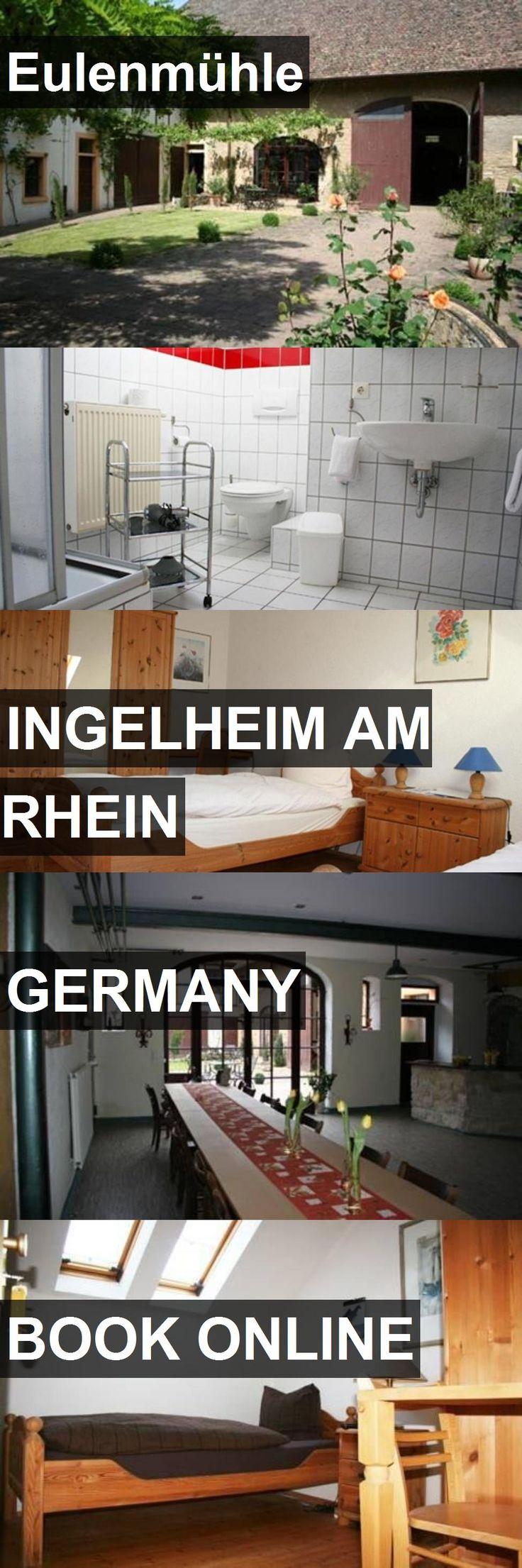 Hotel Eulenmühle in Ingelheim am Rhein, Germany. For more information, photos, reviews and best prices please follow the link. #Germany #IngelheimamRhein #travel #vacation #hotel