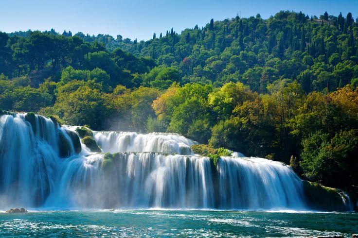 The natural beauty of Split, Croatia.50Krka National, Nationaal Parks, Beautiful Places, National Parks, 50 Krka National, Nature Beautiful, Krka Waterfal, Daily Photos, Split Croatia