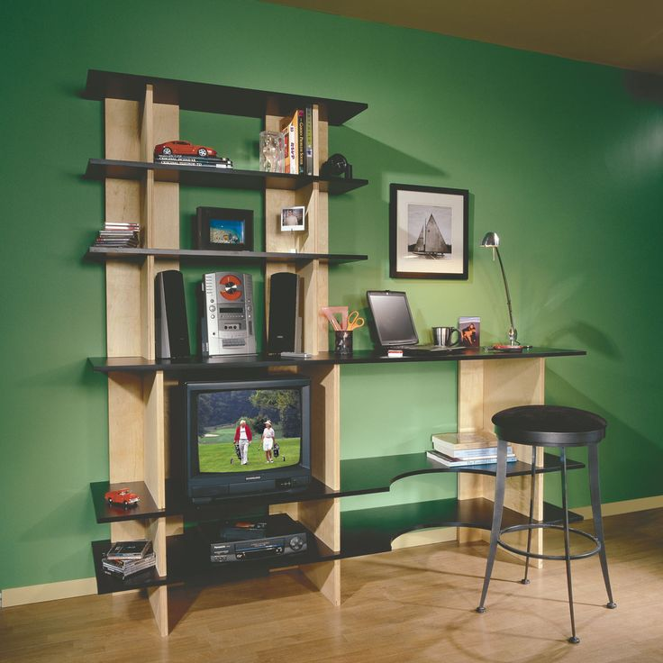 10 Best Office Wall Desk Units Images On Pinterest