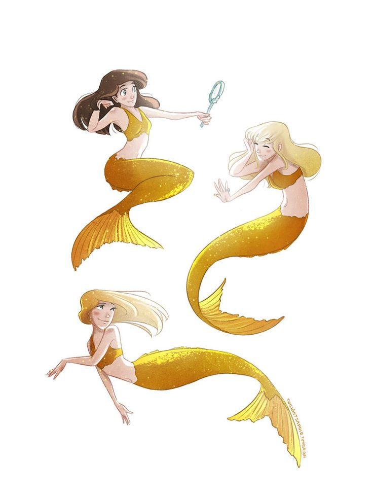 Fanart of a guilty pleasure of mine. I don't care. I love this show. I love mermaids. _____ Characters: Nixie, Sirena and Lyla Fandom: Mako Mermaids