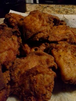 Try this fried chicken recipe from Food.com that is as close to Popeyes as you can get without actually going there.