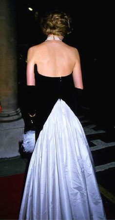 dianas black evening gowns - Google Search