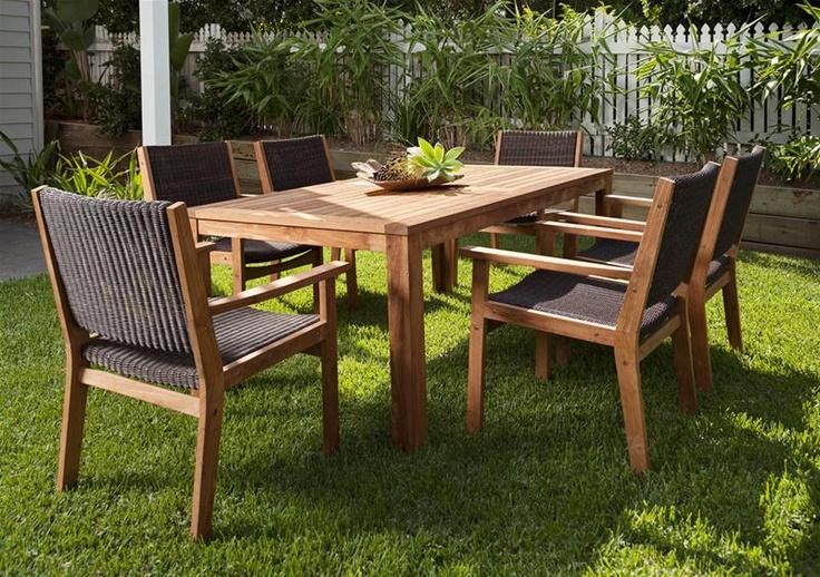40 best timber outdoor furnitur images on pinterest teak for Outdoor furniture specialists