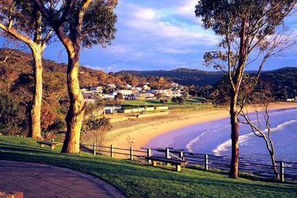 Lorne, Australia. SSW of Melbourne along The Great Ocean Road