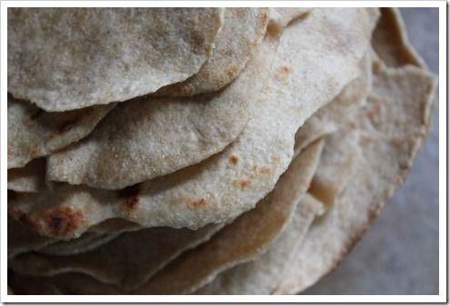 Healthy Homemade Whole Wheat Tortillas