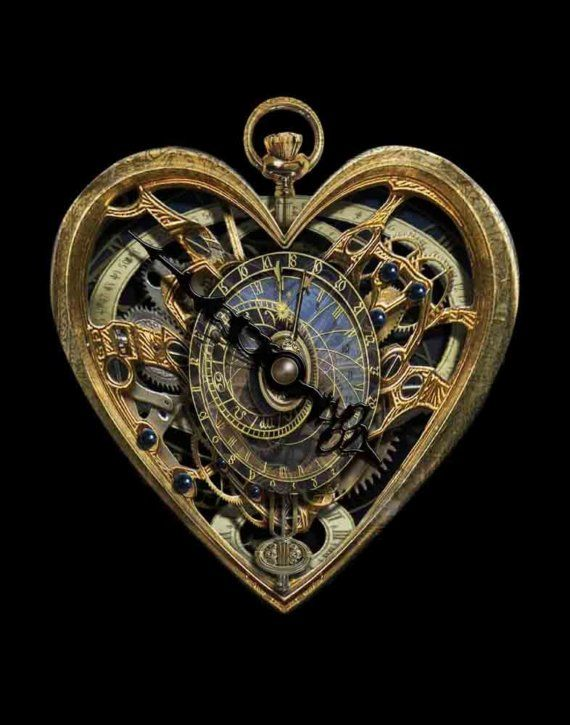 The Clockwork Heart - Art Print by Brian Giberson--I own a number of prints by this artist and just love the work