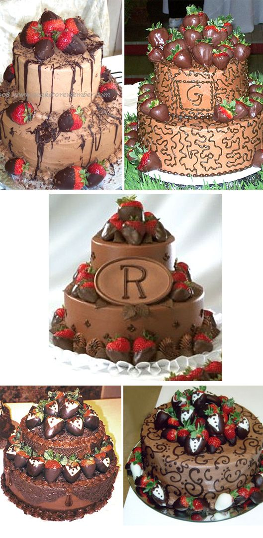 Chocolate with Strawberries: Cakes Ideas, Strawberries Cakes, Chocolates Wedding Cakes, Chocolates Cakes, Cakes Written, Anniversaries Cakes, Chocolates Covers Strawberries, Grooms Cakes, Birthday Cakes