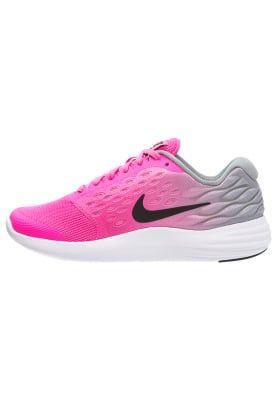 LUNARSTELOS - Neutral running shoes - pink blast/black/white