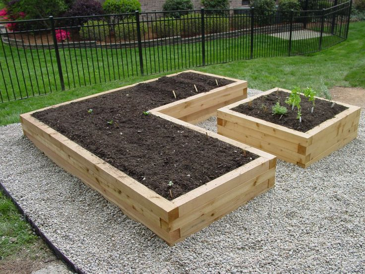 25 best ideas about raised garden bed design on pinterest for Garden bed fence ideas