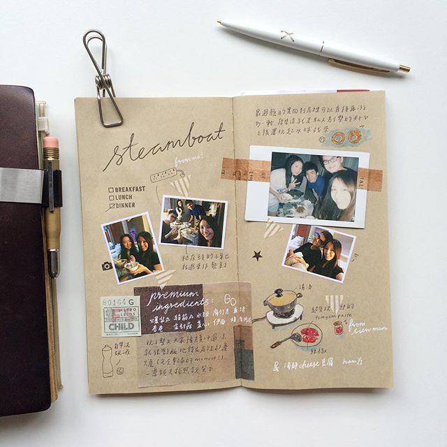 Fun mini scrap booking photo journal