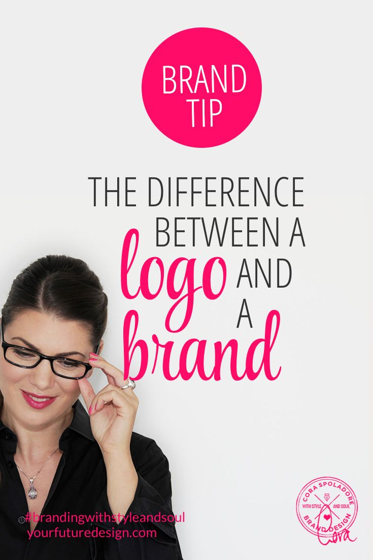 A logo is simply a visual element. It's the mark, text, or mark and text that visually represent your business. A brand is much more then that. A brand is what the logo, hopefully, represents, the story, your message. A brand goes past just an image and text and becomes a personality. A brand connects emotionally with the Client; It has values, a purpose, and a mission. A brand is something that people can get behind, believe in, and trust. yourfuturedesign.com