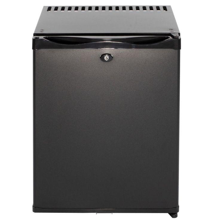 Smad DC 12V AC 110V 36Qt Absorption Mini fridge for Hotel Dorm Low Noise Electric Compact Camper Truck Refrigerator